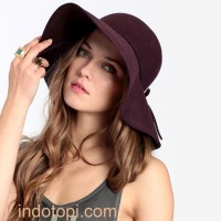 topi floppy hat / floopy hat / topi pantai dewasa