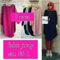 Baju Atasan Muslim Wanita / Dress / Gamis / Busana / Hijab Set 08156