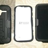 Motorola Moto X  1st Gen Hybrid Hard Soft Case Xt1058