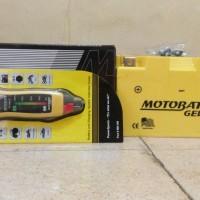 Aki Motobatt Type MTX7A untuk motor Ninja250,klx,minerva,pulsarNS200