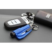 harga Gantungan kunci serba guna Safety Hammer+Seat Belt Cutter+Whistle Key Tokopedia.com