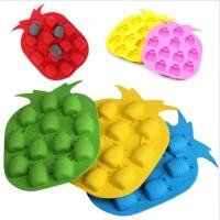 harga Nanas Cetakan Mold Kue Jelly Puding Es Cube Silicone Bentuk Pineapple Tokopedia.com