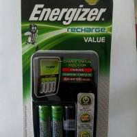 harga Charger 4 Baterai/ Batre Energizer Value + 2 Baterai Aa Rechargeable Tokopedia.com