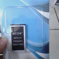 Baterai Mcom Type BA-00033 for Mito Hp Mini 111 Double Power 5000Mah