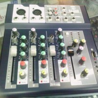mixer audio mini nVk 4ch effect + usb