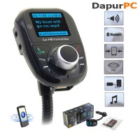 harga Bluetooth Car Kit Charger Fm Transmitter Mp3 Player Handsfree Tokopedia.com
