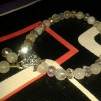 harga gelang batu akik kecubung air kombi kristal motif juntai Tokopedia.com
