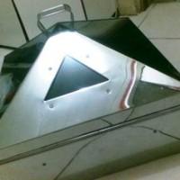 Klakat / Kelakat / Kalakat Kukusan Stainless Steel Bagus Bentuk Kotak