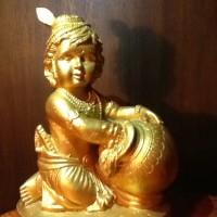 harga Patung Dewa Krishna / Kresna / Khrisna / Krisna Kecil Membawa Ladu Tokopedia.com