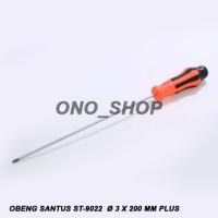 Obeng Santus ST-9022 3x200 Mm Plus