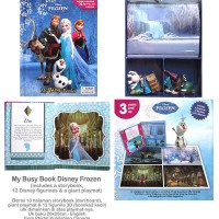 My Busy Book Disney Frozen includes a Storybook, 12 Disney Figurines