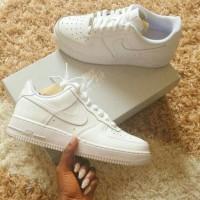 Sepatu Nike Air Force 1 Full White