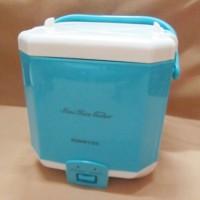 harga Mini rice cooker ( magic com ) MODEL KOTAK - WARNA BIRU Tokopedia.com