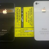 Backdoor / Tutup Belakang / Chasing belakang iphone 4 / 4s / CDMA