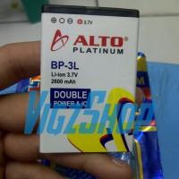 Baterai Nokia Asha 303, 603, Lumia 303,510,610,710 BP-3L Alto 2600mAh