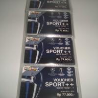 Kartu Voucher Fisik Matrix Garuda Paket Sport + + Rp 77.000