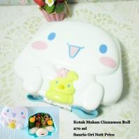 Kotak Makan Cinnamon Roll Sanrio Original BPA Free