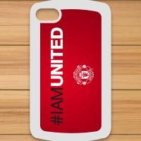 01 #IAMUNITED Manchester United BB Q10 Custom Case
