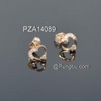 Giwang hati emas PZA14089
