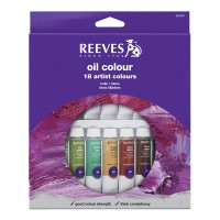 Reeves 18 Oil Color Set