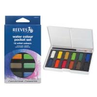 Reeves Watercolor Pocket Set 12