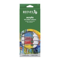 Reeves 12 Acrylic Color Set