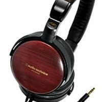 Audio Technica ESW9 Wooden HEadphone