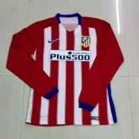 JERSEY ATLETICO MADRID HOME LONG SLEEVE 2015-2016 GRADE ORI