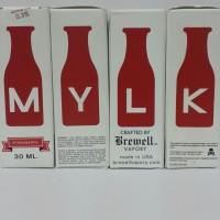 Premium Liquid Vapor Mylk - Strawberry 3mg / 30ml