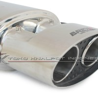Knalpot Mobil Brexx Masterpiece V-Ellipse (VPE-01)