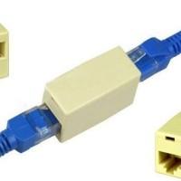 Barel RJ45 Coupler UTP LAN Ethernet Barrel Converter Passthrough