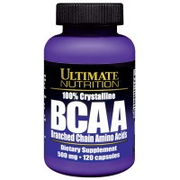 ULTIMATE NUTRITION BCAA 500MG, 120 CAPS