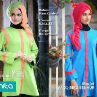Blus Atasan Alnita 01/baju Muslim/baju Atasan