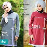 Blus Atasan Alnita 04/baju Muslim/baju Atasan Modis