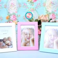 Frame/Pigura Foto Model Flat warna Soft