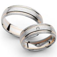 Jual cincin kawin palladium, cincin pernikahan silver emas no 2 Murah
