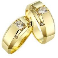 Jual cincin kawin palladium, cincin pernikahan silver emas no 9 Murah