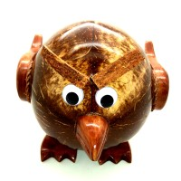 Celengan Batok / Tempurung Kelapa Bentuk Angry Bird