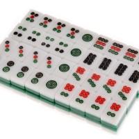 harga Mahjong Mini, Mah Jong, Travel Game Portable - 144 Tiles, carved tiles Tokopedia.com