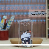 Casing HP Custom Hardclear Samsung Ace 3 Baby Kakashi