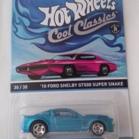 Hot wheels '10 FORD SHELBY GT500 (made in Thailand)