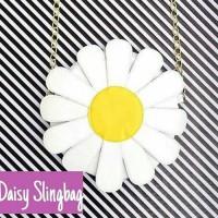 slingbag daisy tas selempang sling bag bunga matahari tumblr korea