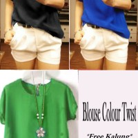 Blouse Colour Twiscone
