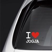 Sticker Mobil JDM Love Jogja USC210 Xenia Juke Mobilio Avanza Hyundai