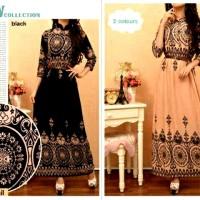 harga long dress batik rayon Tokopedia.com