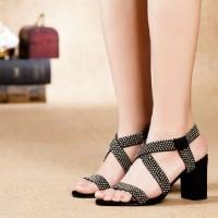 harga Dpd136 Sepatu High Heels 5cm Bludru Suede Pesta Jalan Mall Santai Kece Tokopedia.com