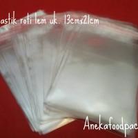 OPP/plastik roti lem uk. 13cmx21cm