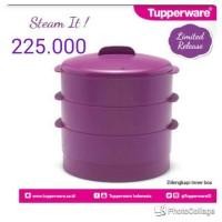 Tupperware Steam It Ungu - SALE