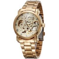 Jam Tangan Original Winner U8008 Skeleton Automatic Mechanical Watch
