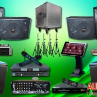 Sound System Paket Karaoke Meeting Mixer Amplifiers Speaker Profesional dengan Vokal Yang Mantap